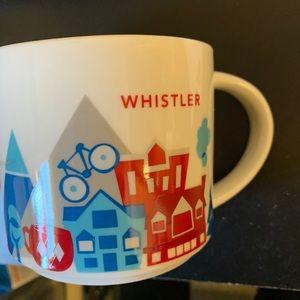 Starbucks Whistler You Are Here Series Mug